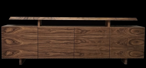Lucido walnut Sideboard